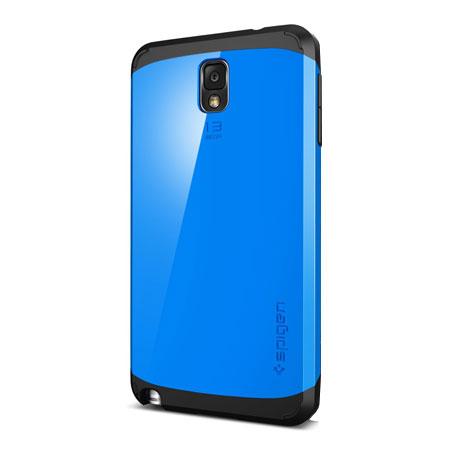 the latest caf8a b6c44 Spigen Slim Armor Case for Samsung Galaxy Note 3 - Dodger Blue