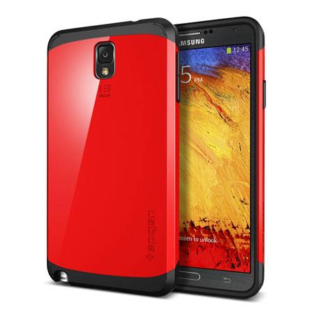 online store f8902 f2f51 Spigen Slim Armor Case for Samsung Galaxy Note 3 - Crimson Red