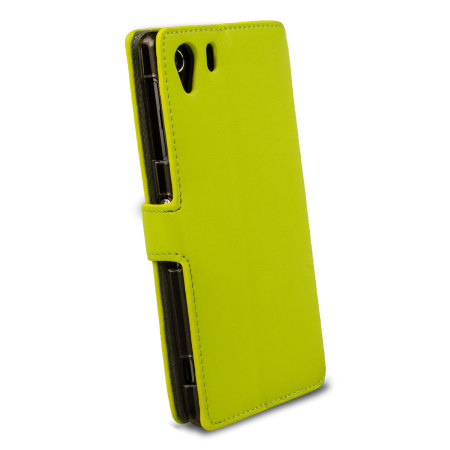 Wallet Case for Sony Xperia Z1 - Green