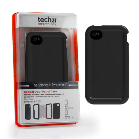 the best attitude dc518 bc705 Tech21 D3O Special Ops Patrol Case for iPhone 4S / 4 - Black