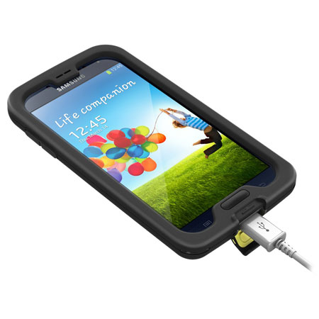 new product 7a65f b0db2 LifeProof Fre Case for Samsung Galaxy S4 - Black