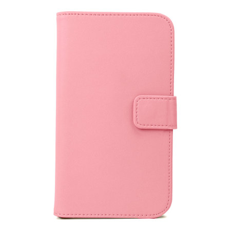Wallet Case for Samsung Galaxy Note 3 -  Pink