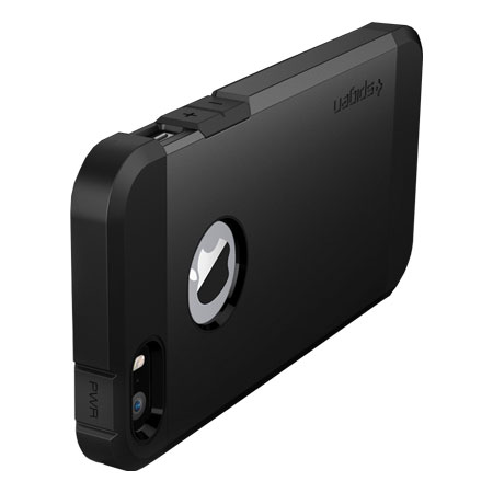 spigen tough armor iphone 5s spigen sgp tough armor for iphone 5s 5 smooth black 18029