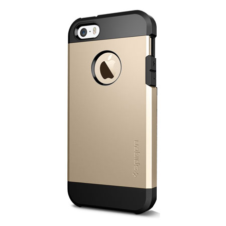 gold iphone 5 case spigen sgp tough armor iphone 5s 5 champagne gold 14202