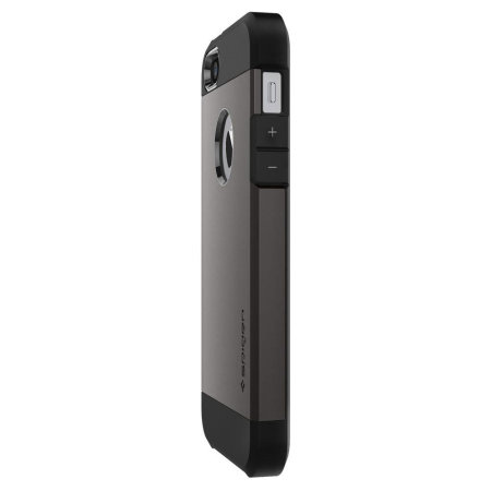 spigen sgp tough armor iphone 5s / 5 case - gunmetal