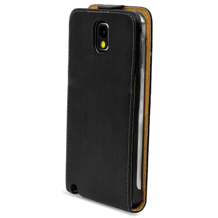 Flip Case and Stand for Samsung Galaxy Note 3 - Black