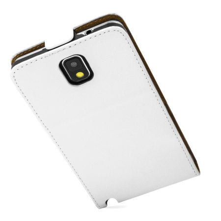 Flip Case and Stand for Samsung Galaxy Note 3 - White