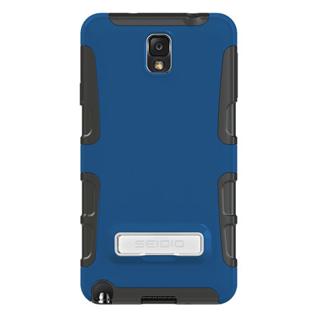 Seidio Dilex Case for Samsung Galaxy Note 3 with Kickstand - Blue