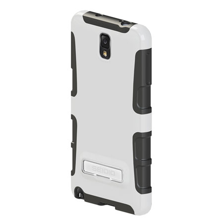 Seidio Dilex Case for Samsung Galaxy Note 3 with Kickstand - White