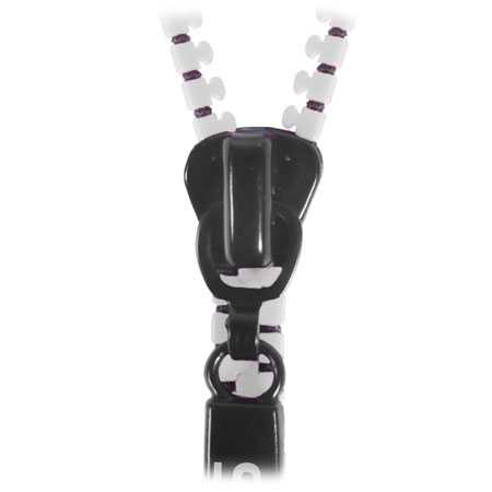 STK Zippit 3.5mm Anti-Tangle Earphones and Hands-free Microphone-White
