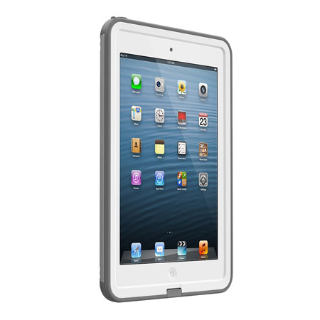 buy popular 19e62 fe630 LifeProof Fre iPad Mini 3 / 2 / 1 Case - White / Grey