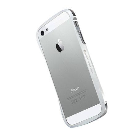 Draco Design Aluminium Bumper for the iPhone 5S / 5 - White
