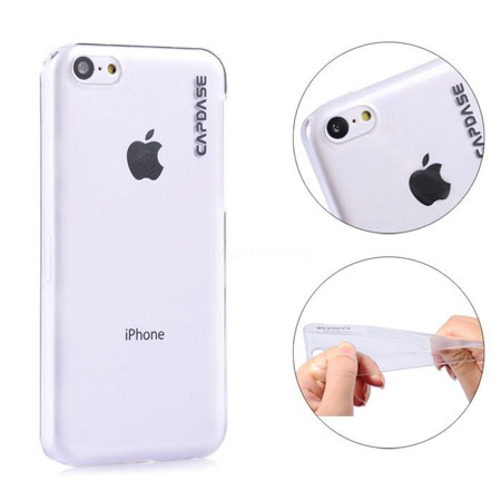 Capdase Karapace Jacket Finne DS for iPhone 5C- Clear
