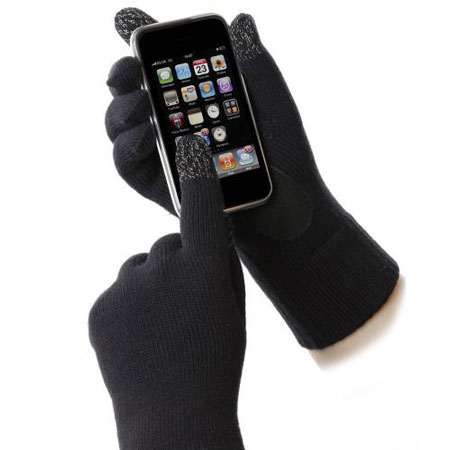 Gants Smartouch Totes Hommes – Noirs