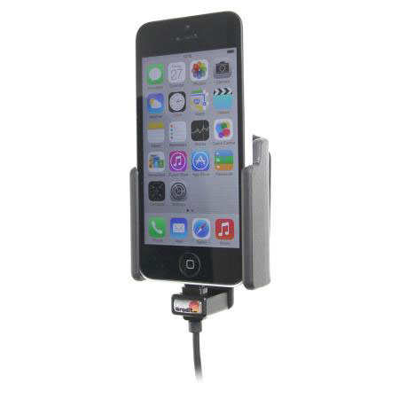 Brodit Active Holder with Tilt Swivel and Cig-Plug - iPhone 5C