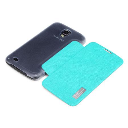 Mobile phone case simplicity azure blue . special computer 15
