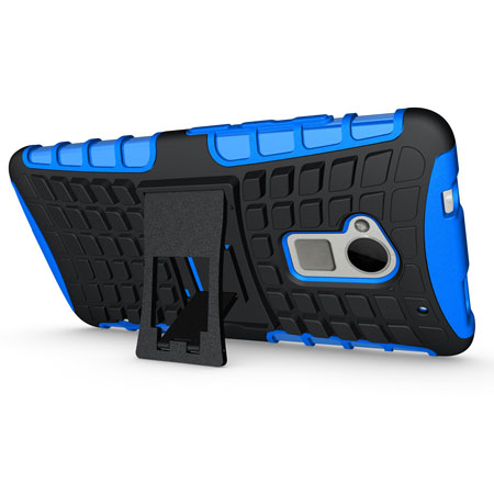 ArmourDillo Hybrid Protective Case for HTC One Max - Blue