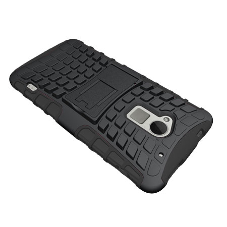 ArmourDillo Hybrid Protective Case For HTC One Max - Black