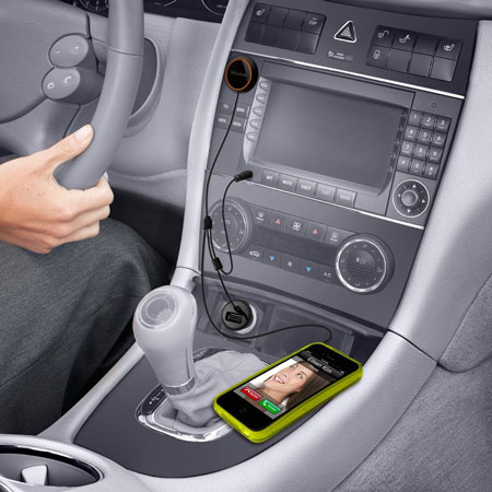 Belkin CarAudio Connect 3.5mm AUX - Black / Orange