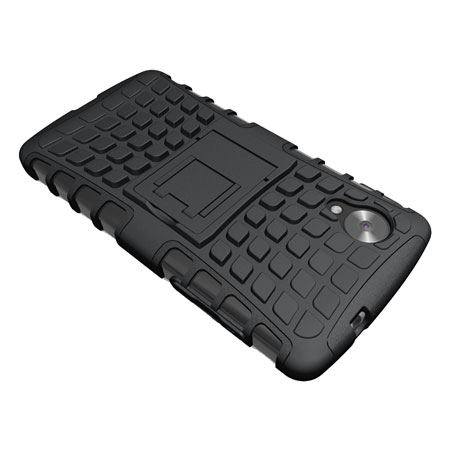 Armourdillo Hybrid Protective Case for Google Nexus 5 - Black