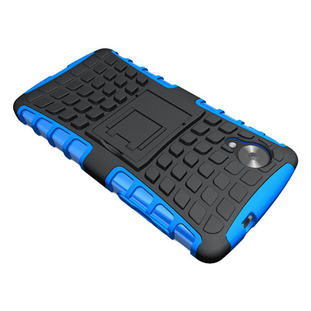 Armourdillo Hybrid Protective Case for Google Nexus 5 - Blue