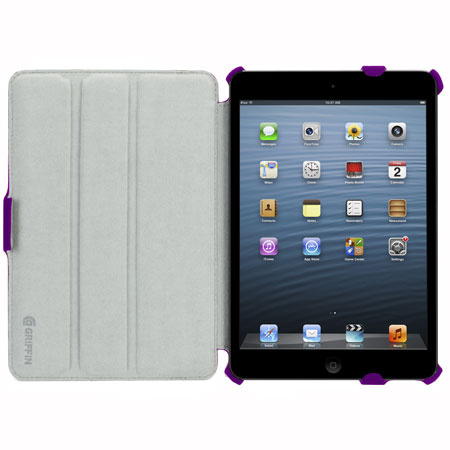 Griffin Journal and Workstand Case for iPad Air - Purple