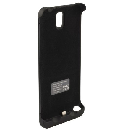 new style aa8dd 46500 Battery Expansion Case 3800 mAh for Samsung Galaxy Note 3 - Black