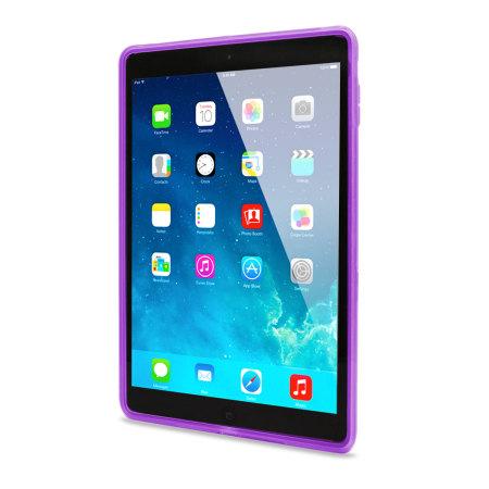 FlexiShield Skin Case for iPad Air - Purple