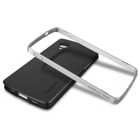 Spigen SGP Neo Hybrid for Google Nexus 5 - Satin Silver