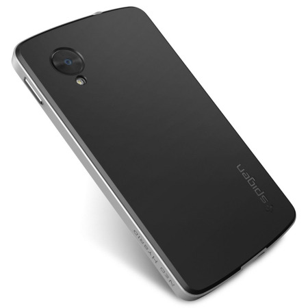 Spigen sgp neo hybrid for google nexus 5 satin silver for Spigen nexus 5 template