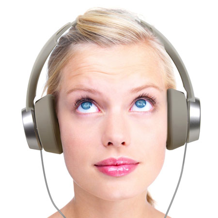 Panasonic HXD3 Headphones - White