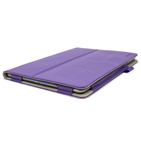 Sonivo Leather Style Case For Ipad Air Purple