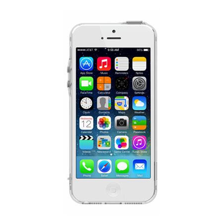 Pinlo BLADEdge Bumper Case for iPhone 5S / 5 - Transparent