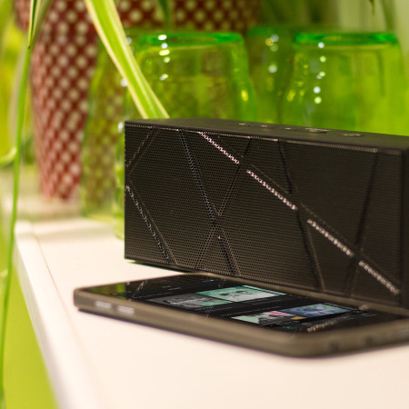 Olixar BoomBrick Wireless Bluetooth Lautsprecher in Schwarz