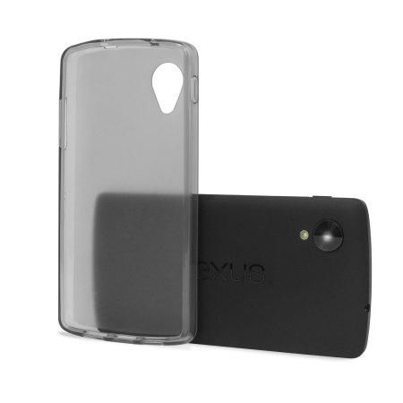premium selection f65f7 6dcf4 FlexiShield Case for Google Nexus 5 - Smoke Black
