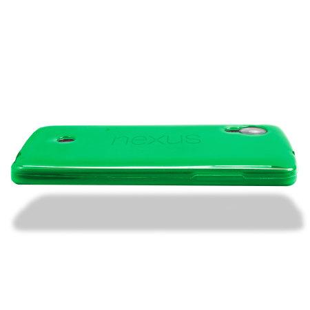 FlexiShield Case for Google Nexus 5 - Green