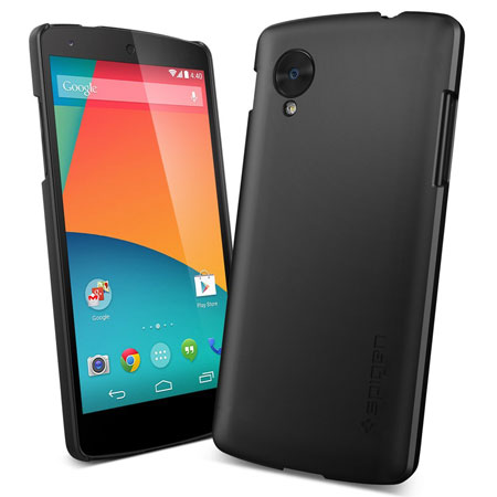 Spigen Ultra Fit Case for Google Nexus 5 - Black