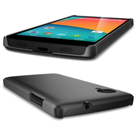 new style 35e95 b22a0 Spigen Ultra Fit Case for Google Nexus 5 - Black