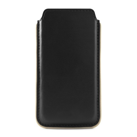 premium selection 37986 40d88 Brunswick Leather Pouch for Apple iPhone 5 / 5S / 5C - Black