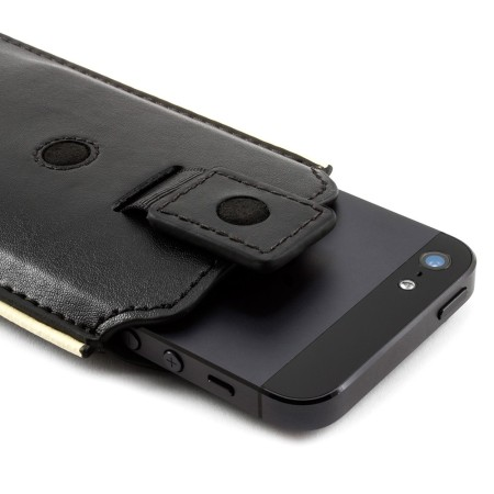 iphone 5c black brunswick leather pouch for apple iphone 5 5s 5c black 11080