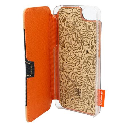 Melkco Cru Style Unbook Flip Case - Black