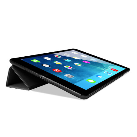 Smart Cover with Hard Back Case for iPad Air - Black