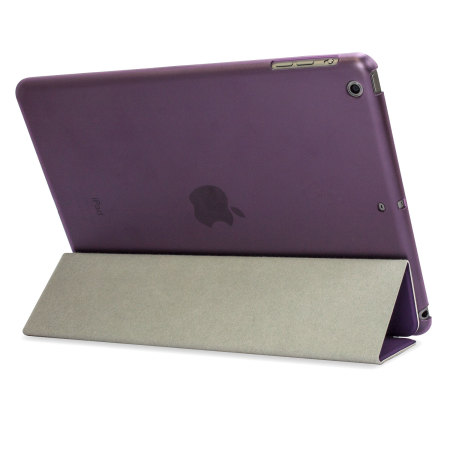 Smart Cover with Hard Back Case for iPad Air - Purple