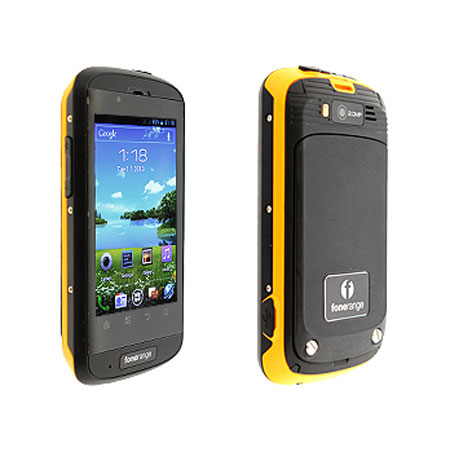 sim free fonerange rugged dual sim android smartphone. Black Bedroom Furniture Sets. Home Design Ideas