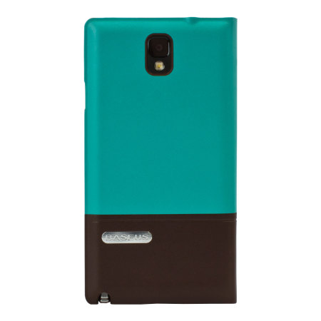 Smart Cover Case for Samsung Galaxy Note 3 - Blue / Brown