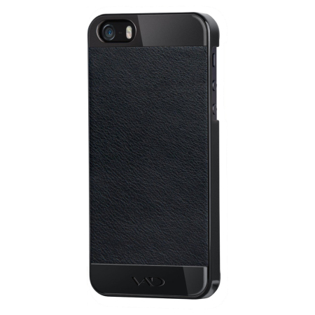 VAD Superior Leather Guard Mask for iPhone 5S/5 - Black