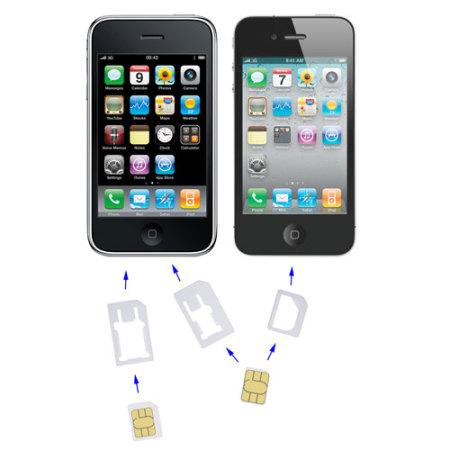Kit Nano and Micro SIM Adaptor Pack