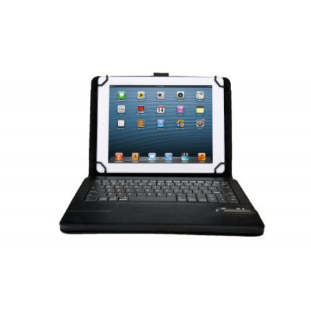 comes 10 inch tablet case with bluetooth keyboard only the white