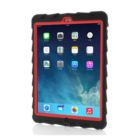 Gumdrop Drop Series Case for iPad Air - Black / Red
