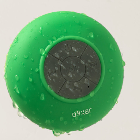 guide will aquafonik bluetooth shower speaker green 2 Mobile